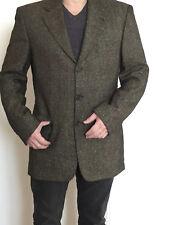 HUGO BOSS angelico giacca per abito screziato seta lana T 50 di alta qualità