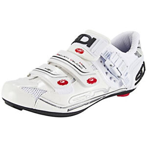 New SIDI Genius 7 Woman Road Bike Cycling Shoes White White US WAREHOUSE