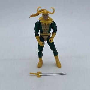 CLASSIC LOKI FIGURE w/ SWORD LOOSE Marvel Legends Professor HULK Wave Hasbro MCU