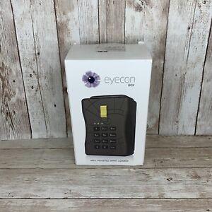 Eyecon Box Wall Mount WiFi Smart Lockbox Key Lock Control Remotely FACTORY RESET