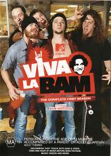 Viva La Bam: Season 1  - DVD - NEW Region 4