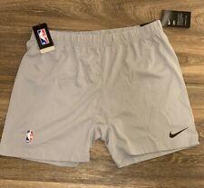 Nike NBA Team Player Issued Basketball Training Shorts Above Knee Sz MEDIUM-TALL