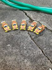 VINTAGE FIVE PIECE AURORA AFX SLOT CAR GROUP / PORSCHE #51 / WHALE TAIL / 1980!!