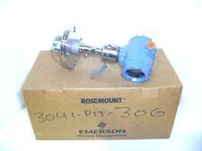 Rosemount 3051S1 TG2A2B11A1ADA2E5M5Q4 0-30PSI Transmitter w/ 1199 Seal 2013 NEW