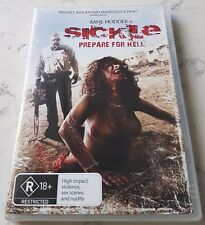 Sickle Prepare For Hell Kane Hodder (DVD, 2013) New  Region 4