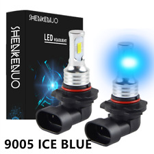 2pcs H11 9005 8000K ICE BLUE LED Headlight Bulbs Kit For Toyota RAV4 1998-2012