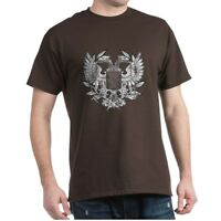 CafePress Byzantine Eagle Dark T Shirt 100% Cotton T-Shirt (218584251)