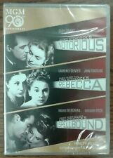 Notorious Rebecca Spellbound Mgm 90th Ann.(Dvd, 2014, 3-disc Set) Factory Sealed