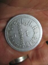 PARK RIVER NORTH DAKOTA N D GOOD FOR 25c IN TRADE TOKEN MERCHANT L H HARRIS