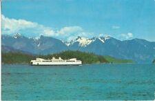 S2130  MV SUNSHINE COAST QUEEN Canada Fährschiff Landale Alberta 1969