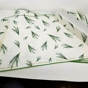Perfumed Drawer Liners Woods of Windsor Lavender 6 Sheets Made in England