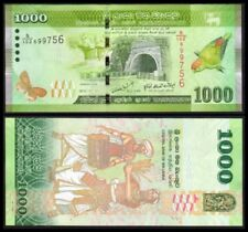 SRI LANKA 1000 RUPEES 2010. PICK 127a. SC. UNC (Uncirculated).