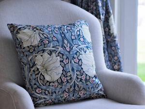 William Morris Cushions Pimpernel Blue