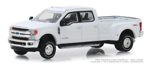 1/64 GREENLIGHT  WHITE 2018 FORD F-350