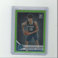 2019/20 Optic Lime Green Prizm Jaxson Hayes Parallel Rookie card #'d 59/149 RC!