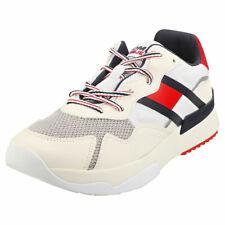 Tommy Jeans Corredor Zapatillas para hombre moda Marfil sostenible