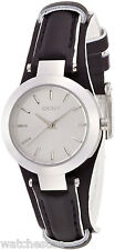 DKNY Sasha Black Leather Cuff Women's Watch NY8750