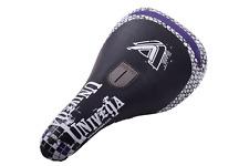 Univega BMX Bike Pivotal Saddle Seat Lightweight Black/Purple