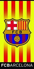 F.C. Barcelona Barça Beach towel 100% cotton with official license. Measure 67""