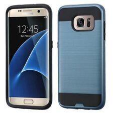 Étuis, housses et coques etuis, pochettes bleu en métal pour téléphone mobile et assistant personnel (PDA)