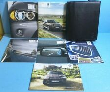 11 2011 BMW X5/X6 owners manual with Navigation