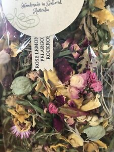 POTPOURRI HANDMADE Apothecary ROSE Blend Artisan Victorian Large Home Fragrance