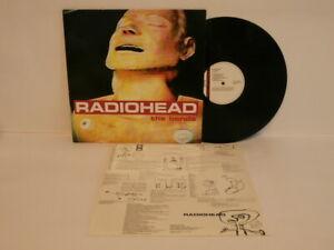 90s Rock RADIOHEAD the bends Rare 1995 UK First Pressing Vinyl LP + Inner OMG!