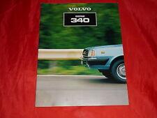 VOLVO 343 345 L DL DLS GL GLS Prospekt von 1981