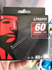 Kingston Technology 60 Minutes 4GB SDHC Video Card