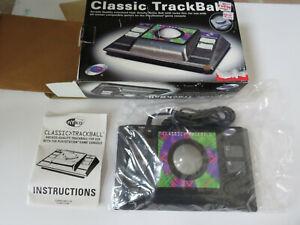 CLASSIC TRACKBALL (Sony PlayStation, PS1/PS2) 1988 Nyko - CIB w/ Manual Open Box