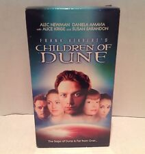 Children of Dune VHS (2-tape-set) - Frank Herbert - RARE VHS