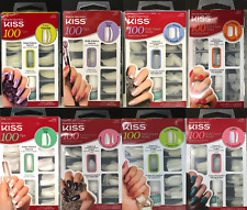 (Buy 1, Get 1, 50% off) KISS 100 Full Cover Nails Acrylic Tips 100PS 96TN01