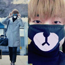 Kpop BTS V Masks Mouth Unisex Bangtan Boys New Face Muffle Respirator Cotton