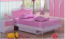 NEW single size cinderella Toddler Bed Girl Pink Bed