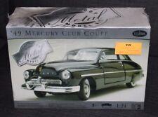 Boxed & Sealed TESTORS 1:24 Model Car METAL '49 Mercury Club Coupe lot t