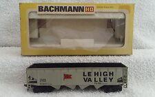 Bachmann HO 1022 42' open quad offset hopper 'lehigh valley ' in original box