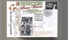 SHANE WARNE 'THE KING OF SPIN' FINAL TEST CRICKET COV 3