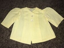 Terri Lee Doll Clothing Yellow Summer Suit Top Tagged