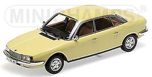 NSU Ro 80 1972 Limousine 1967-77 Jaune 1:18 Minichamps