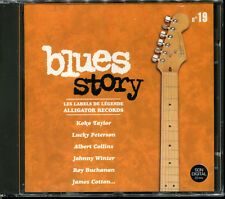 BLUES STORY - N°19 LES LABELS DE LEGENDE ALLIGATOR RECORDS - CD COMPILATION NEUF