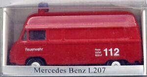 MB-Transporter L 207, Feuerwehr für H0 (A-1048)