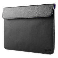 "Incase MacBook Air 11"" 12"" Pathway Slim Leather Sleeve Pouch Case Black CL60319"