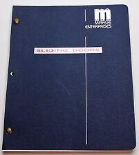 Sliding Doors * 1997 Movie Script Screenplay * Gwyneth Paltrow, Love Life