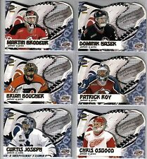 2000/01 PACIFIC McDONALDS GLOVE-SIDE NET-FUSION COMPLETE 6 CARD SET