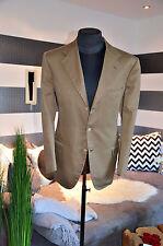 Kiton Sakko aus Baumwolle NP 3.690€ Gr 52 braun *NEU*