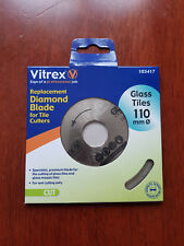 Vitrex Replacement Diamond Blade For Tile Cutters Glass Tiles 110mm 103417