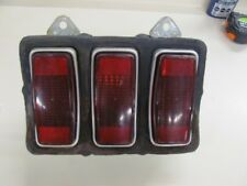 Original 1969 69 Ford Mustang Tail Light Housing w/ Lenses Stamped 69MG