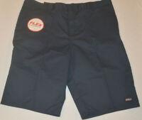 "Men's Dickies Dark Navy Relaxed Fit 13"" Inseam Flex Work Shorts Size 30,32,42,44"