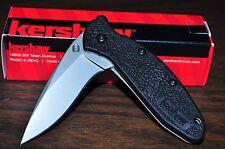 "Kershaw Scallion Knife w/2 1/4""Plain Blade 5-3/4"" Ln Made in USA Ker 1620"