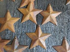 Huge Lot 300 Rusty Barn Stars 2.25 in 2 1/4 Primitive Rustic Country Rusted Tin